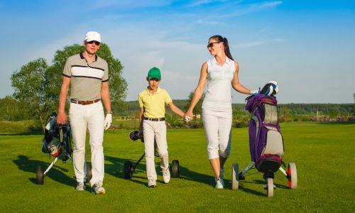 get kids into golf