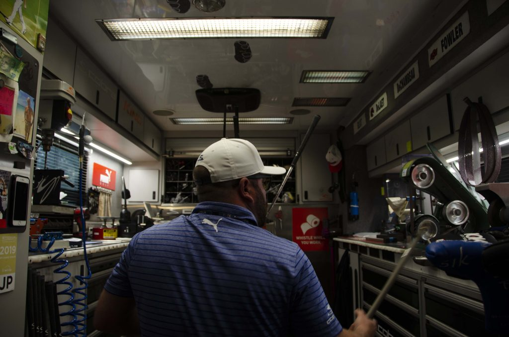 Inside the Cobra Tour Truck